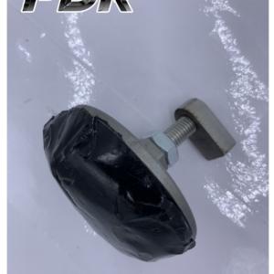 Холодный клей в комплекте с грибком с механической фиксацией Круглый 6см